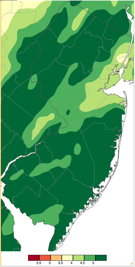 November 2020 PRISM precipitation estimate map, including December 1 morning reports