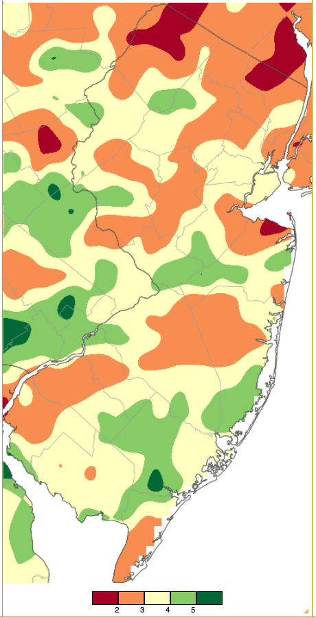 Rainfall from approximately 7 AM on May 31st to 7 AM on June 30th based on an analysis generated using NWS Cooperative and CoCoRaHS observations