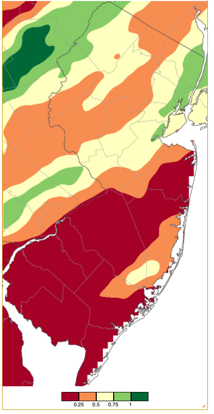 Rainfall from approximately 7 AM on May 3rd to 7 AM on May 4th based on an analysis generated using NWS Cooperative and CoCoRaHS observations