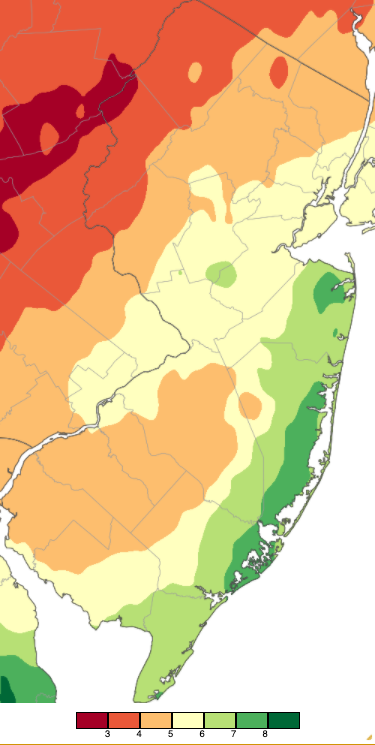 October 2020 PRISM precipitation estimate map