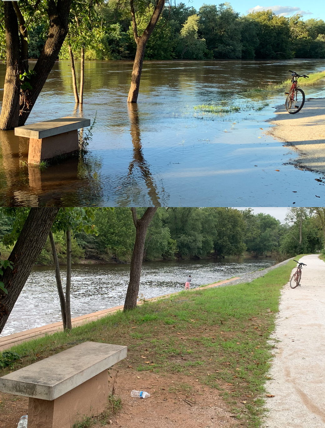 Raritan River flooding photo