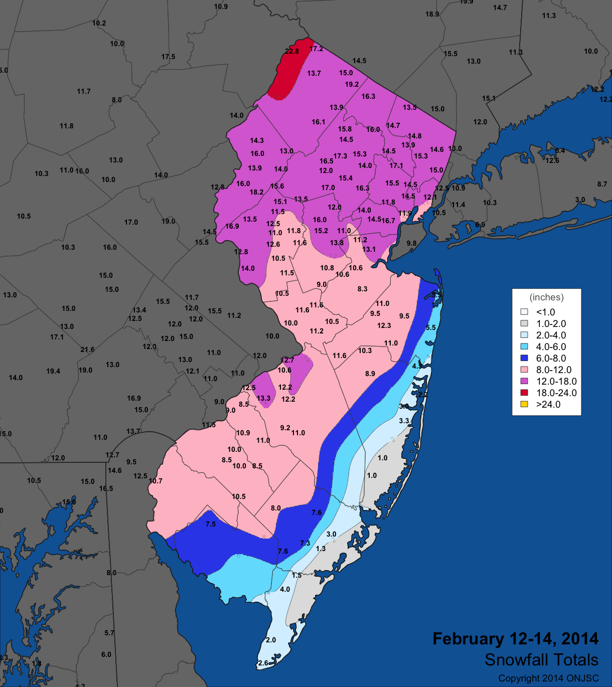 Office of the New Jersey State Climatologist on 24 hour snowfall map, 2012-2013 annual mean snowfall map, boston snowfall map, new york snowfall map, current snowfall map, northeast snow totals map, snowstorm map, blizzard totals map, snowfall today map, vt snowfall map, snowfall averages map, wny zip code map, annual snow totals map, rainfall totals map, square map, snowfall state map, idaho snowfall map, points of interest map, projected snowfall map, new jersey snow totals map,